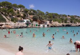 Cala Llombards swimming