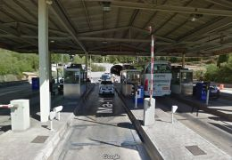 soller tunnel, old toll gates