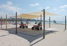 Alcudia beach disabled facilities